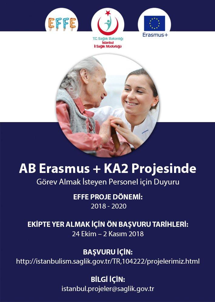 Alzheimer Hastasına Sahip Ailelere Yönelik Erasmus+ Projemiz için Ekip Kuruyoruz