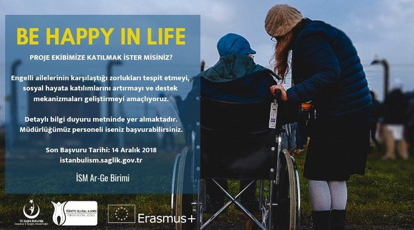 Engelli Ailelerine Yönelik Erasmus+ Projemiz İçin Ekip Kuruyoruz
