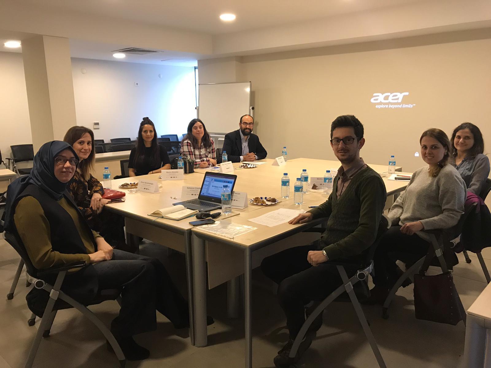 Be Happy in Life Projesi İstanbul Ekibi 1. Toplantısı