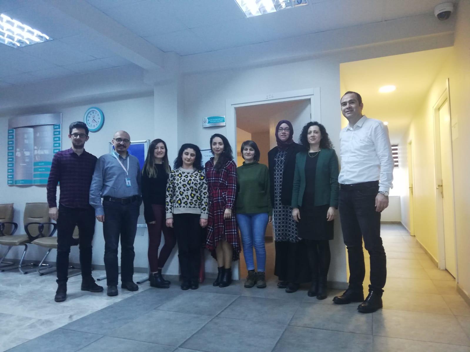 Linking Partners Projesi İlk Ekip Toplantısı