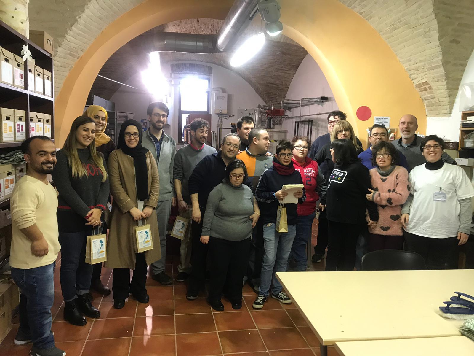 İş Başı Gözlem Toplantısı için İtalya'daydık