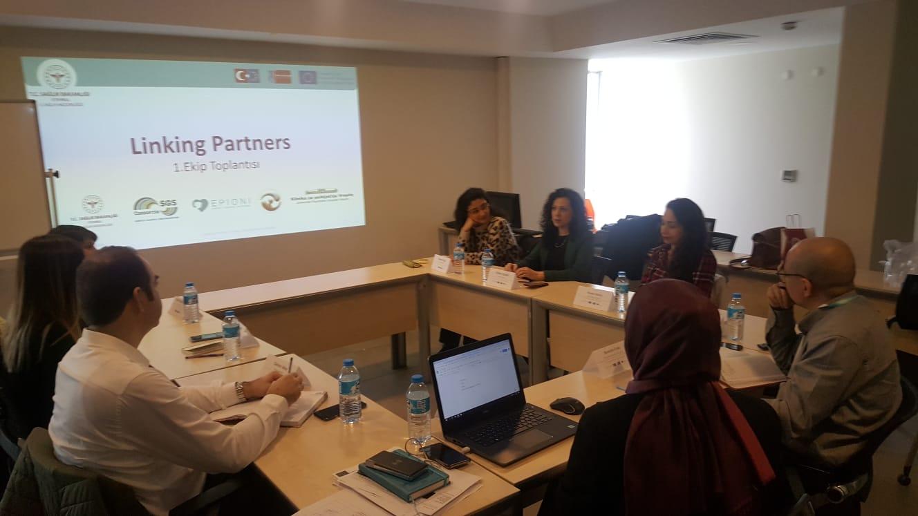Linking Partners İstanbul Ekibi Olarak Güçlerimizi Birleştiriyoruz
