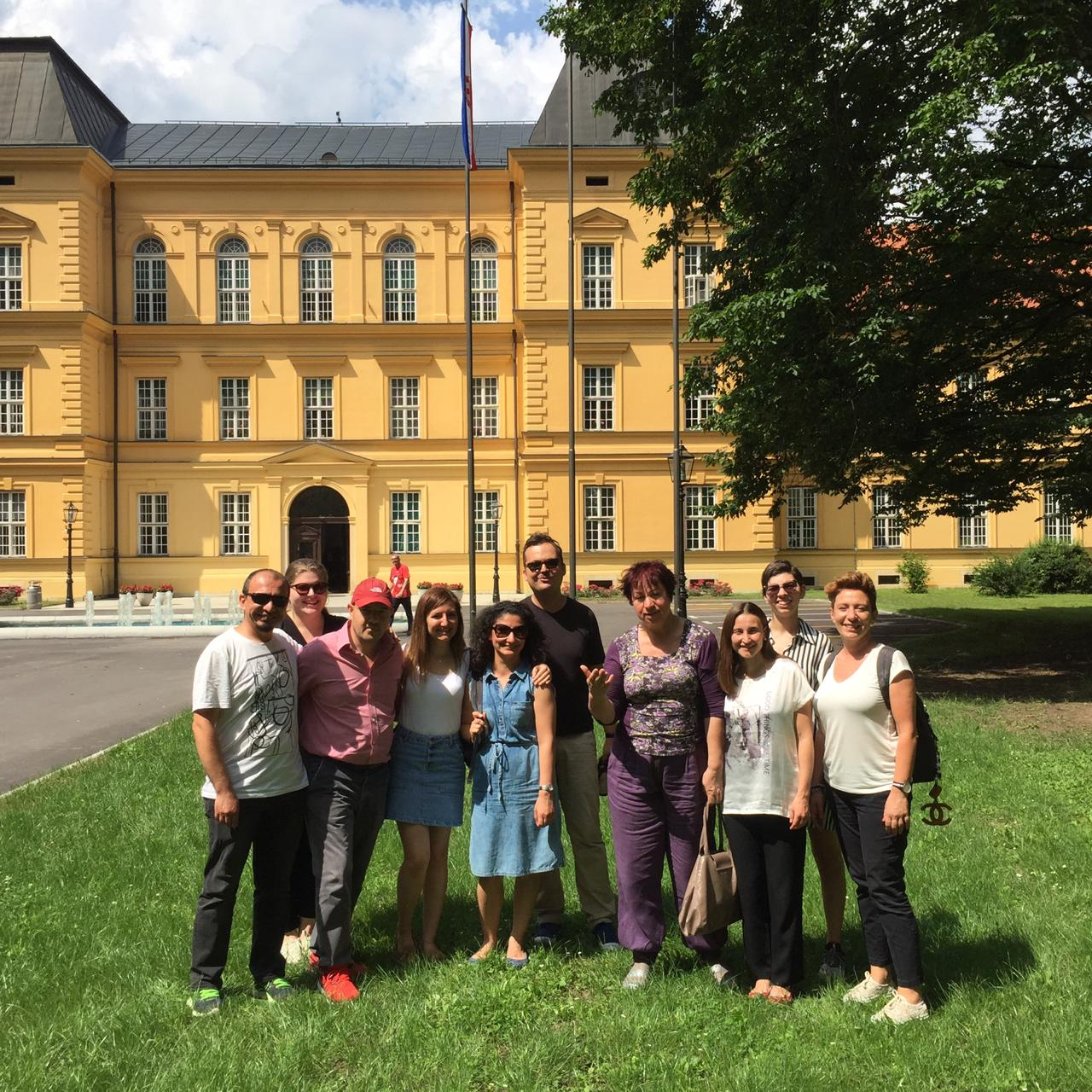 """""""Linking Partners"""" Zagreb Eğitimi"""