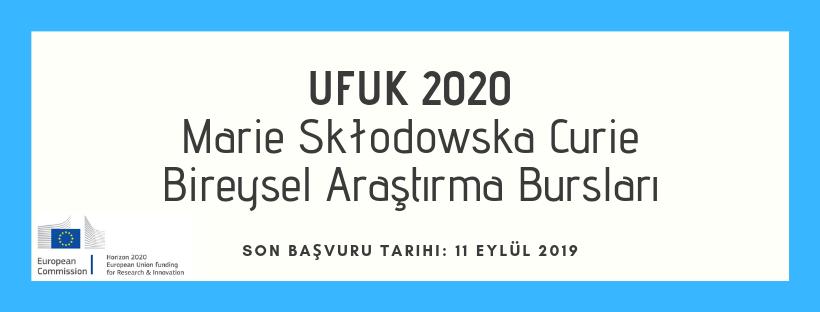 UFUK 2020 Doktora Sonrası Bireysel Burslar