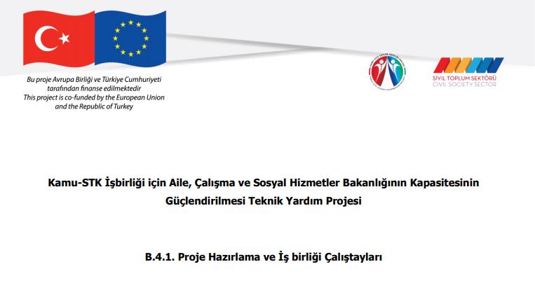 Proje Hazırlama ve İş Birliği Çalıştayı